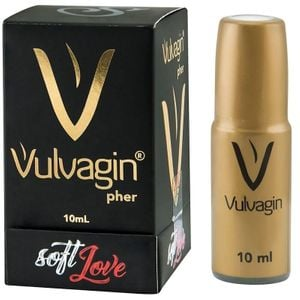 Perfume Excitante Vulvagin 10ml - Soft Love