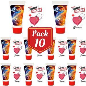 PACK10- ICE HOT (ESQUENTA E GELA) EXCITANTE BEIJAVEL 15 ML  101864