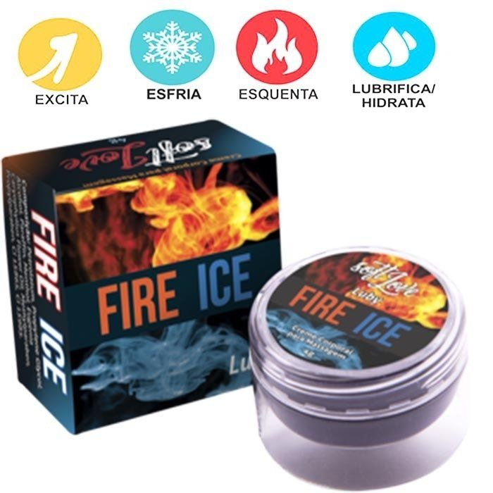 Pomada Fire Ice Excitante 4G - Soft Love