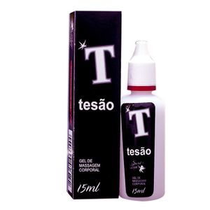 T TESÃO EXCITANTE ESTIMULANTE BEIJÁVEL  15ML - SECRET LOVE