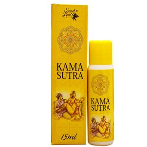 KAMA SUTRA GEL LUBRIFICANTE BEIJÁVEL 15ML - SECRET LOVE