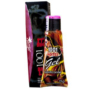 1001 NOITES  EXCITANTE LUBRIFICANTE ( ESQUENTA GELA) 15ml -SECRET LOVE 101990