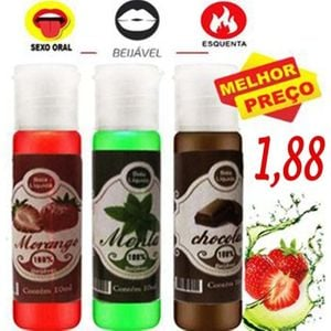 GEL BEIJÁVEL AROMAS HOT 10ML - PSEX 101866