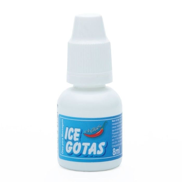 GOTAS DO PRAZER ICE AROMÁTICA 8ML- CHILLIES