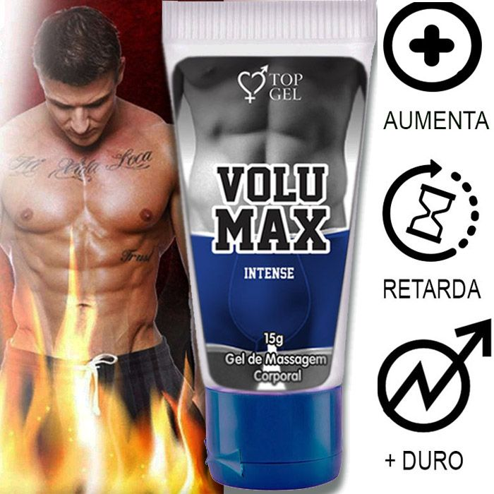 Gel para aumentar o Penis Volumax 15ml Top gel