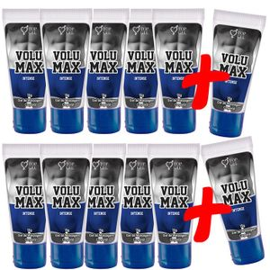 PACK PROMOCIONAL LEVE 12 PAGUE 10 VOLUMAX INTENSE (AUMENTA, PROLONGA E ENGROSSA) 15ML -TOPGEL