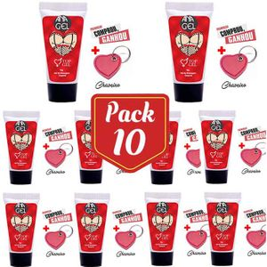 SEX SHOP ATACADO 10 - ANA GEL 5 X 1 ANESTÉSICO ANAL  TOP GEL