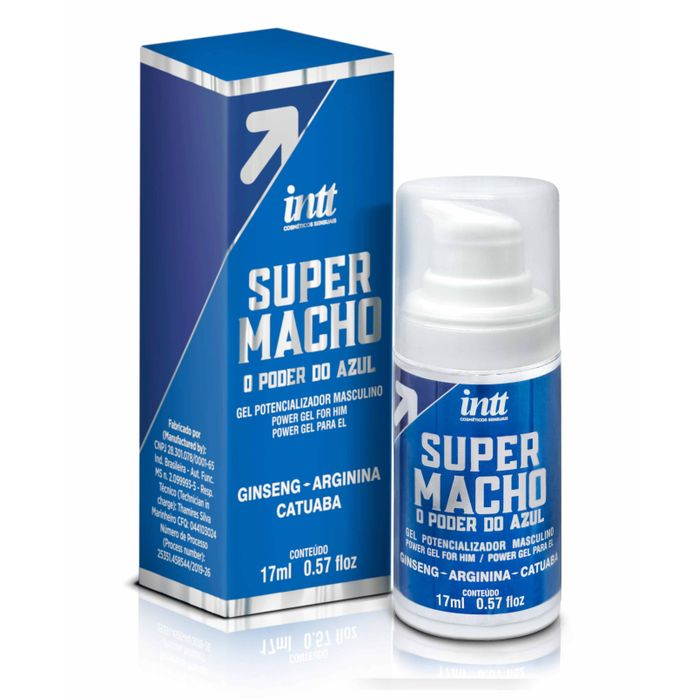 ESTIMULANTE MASCULINO SUPER MACHO GEL 17ML- INTT