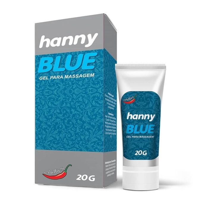 Hanny Blue Anestesico 20g Chillies