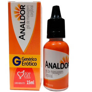 ANALDOR (ANESTÉSICO ANAL EXCITANTE) 15ML  TOP GEL