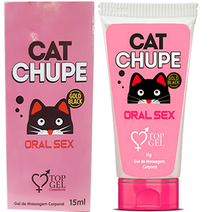 CAT CHUPE GEL EXCITANTE AROMATICO ESQUENTA  15 ML - TOP GEL