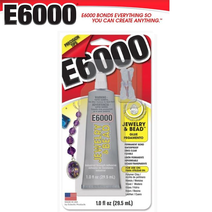 COLA E6000 J&BEAD 29,5ML 4 BICOS