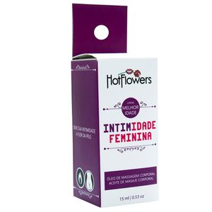 Intimidade Estimulante Sexual Feminino 15ml Hot Flowers