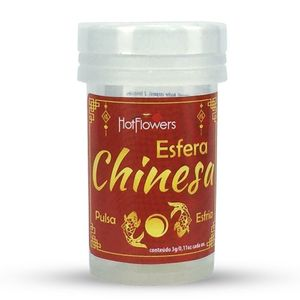Esfera Chinesa Hot Ball 2 Unidades Hot Flowers