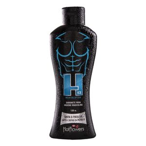 H ICE SABONETE ÍNTIMO MASCULINO 130ML HOT FLOWERS