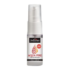 LUBRIFICANTE AQUA FIRE SPRAY 12ML HOT FLOWERS
