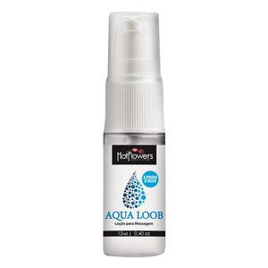 LUBRIFICANTE AQUA LOOB 12ML HOT FLOWERS