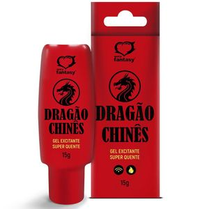 Dragão Chinês Gel Excitante Hot 15g Sexy Fantasy