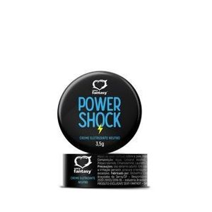 Power Shock Gel Eletrizante Neutro 3,5g Sexy Fantasy