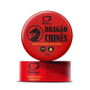 Dragão Chinês Pomada 7,5ml Sexy Fantasy