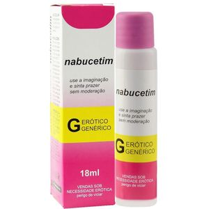 NABUCETIM LUBRIFICANTE AROMÁTICO 18ML SECRET LOVE