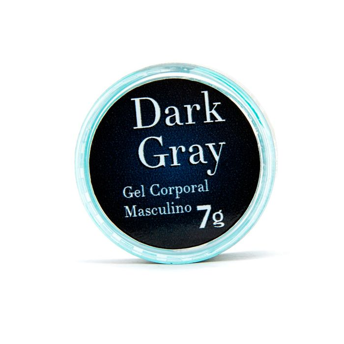 Dark Gray Gel Excitante Masculino 7g Garj