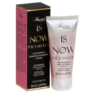 Is Now Premium Gel Comestível Hot 35ml Pessini