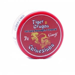 Pomada Excitante Unissex CHINESINHA Tiger & Dragon 7G  Garji