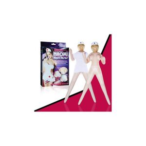 Boneca Enfermeira com Uniforme Naomi Night Nurse