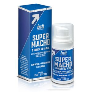 Gel Potencializador Masculino com o Poder do Azul 17ML - INTT SUPER MACHO