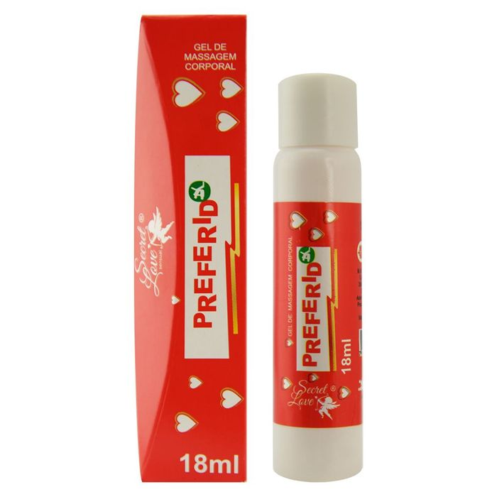 SECRET LOVE PREFERIDO - Gel para Massagem Corporal Beijável 18 mL