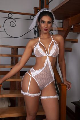 REF: 02180 NOIVA CANDY - BODY E VEU