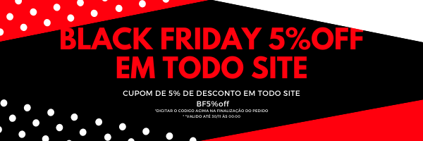 banner black friday cupom  5%off