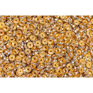Rondela De Strass Acrilico 8mm 2000pcs