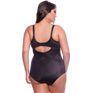 BODY PLUS SIZE ÚNICA COM REGULAGEM RENDADO NAYANE