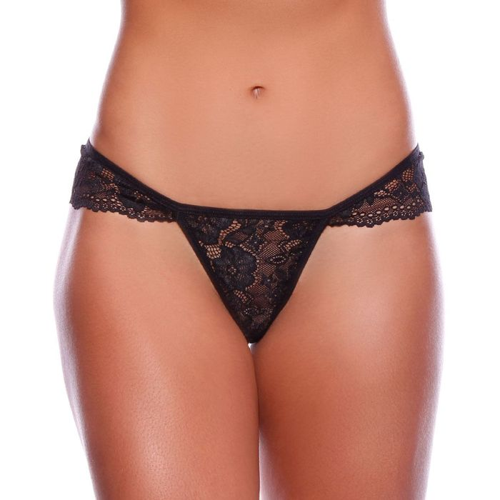 TANGA FIO DENTAL RENDA PLAYBOY PATITEX