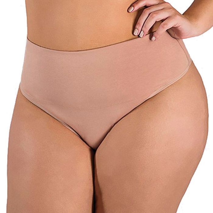 Calcinha Plus Size Pala Alta Cotton Plumas Lingerie