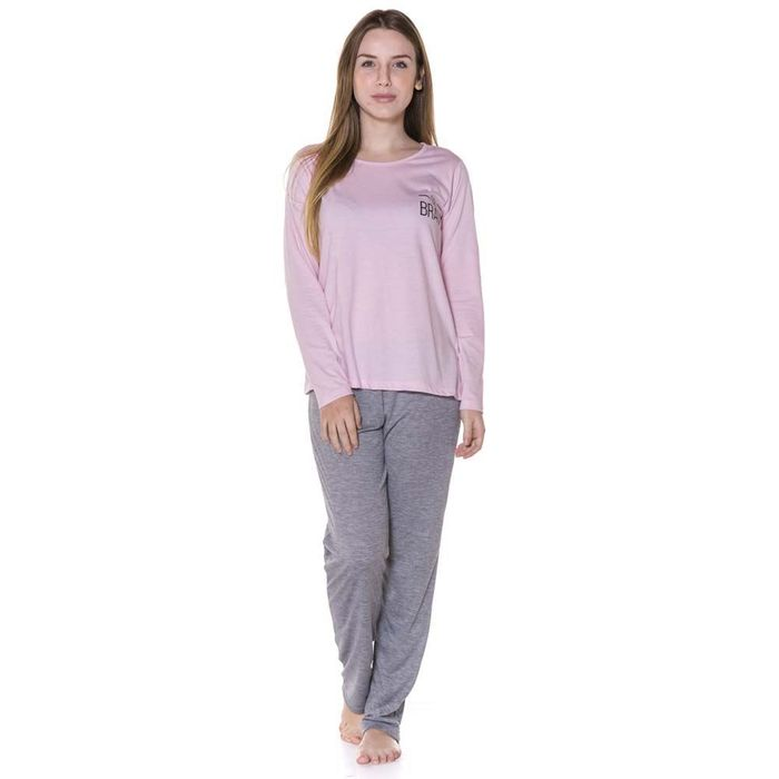 Pijama Feminino Adulto Be Brave Daise Days