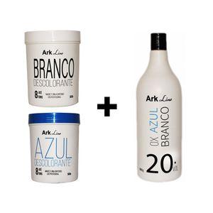 1 Pó Azul Ou Branco + 2 Ox Da Sua Escolha (20, 30 Ou 40)