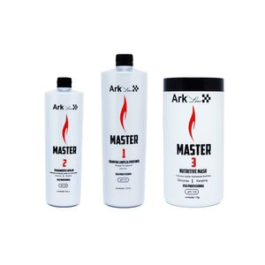 Kit Liso Master Ark Line - Ativo 500 ml