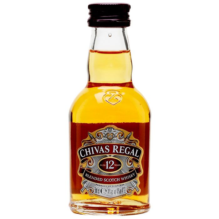 Chivas Regal 12 anos 50 ml