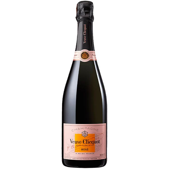 VEUVE CLICQUOT ROSÉ COM CARTUCHO 750 ML