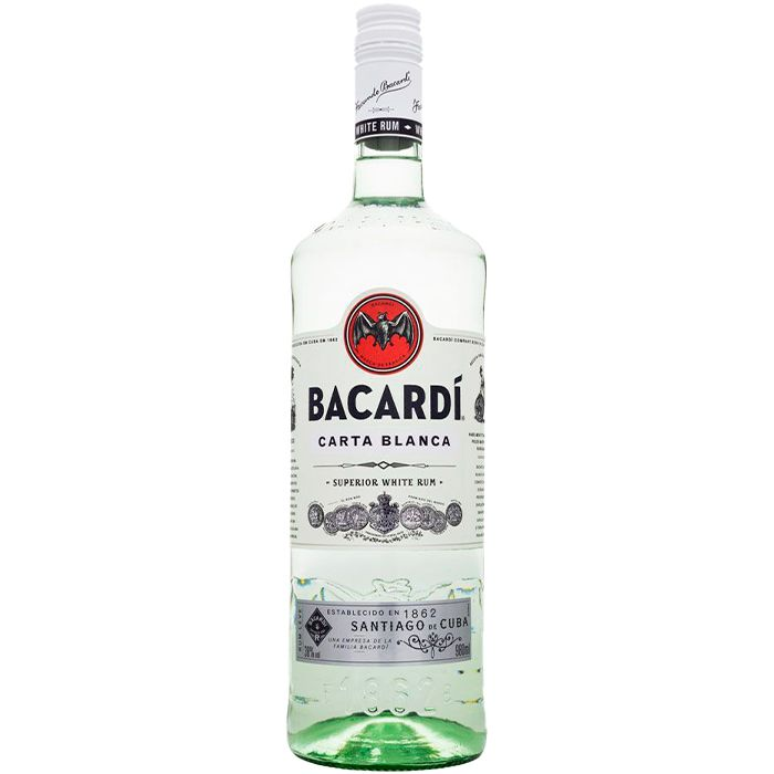 BACARDI SUPERIOR CARTA BRANCA 980 ML