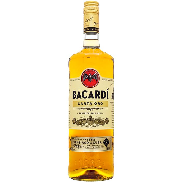 BACARDI CARTA OURO 980 ML