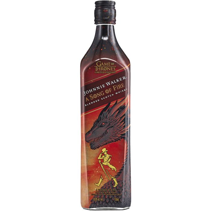 Johnnie Walker White Walker Fire 750 ml
