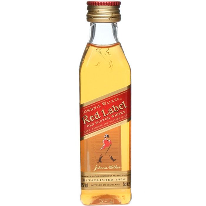 JOHNNIE WALKER RED LABEL 50 ML