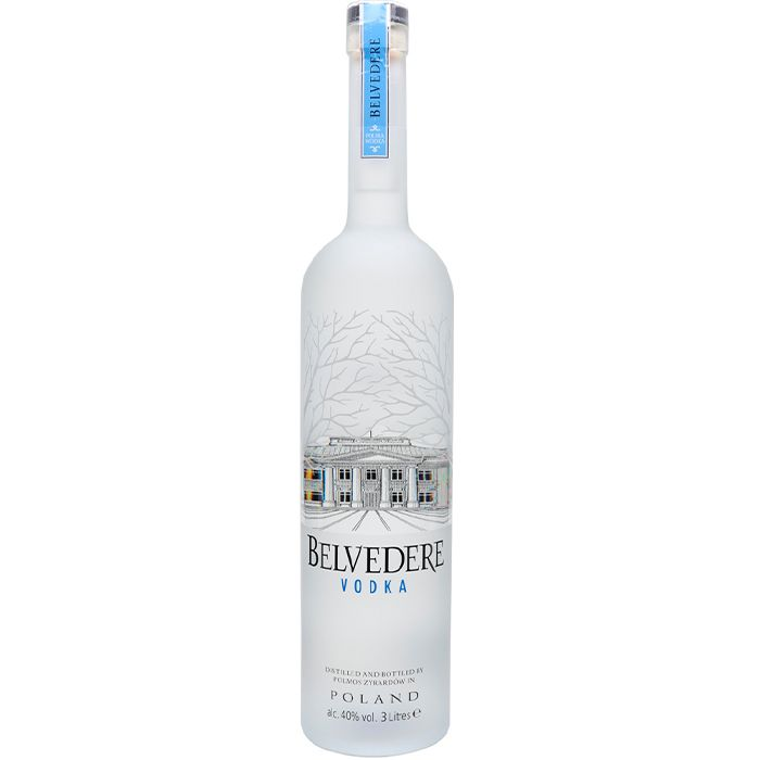 BELVEDERE NATURAL 3000 ML