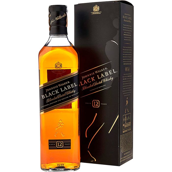 JOHNNIE WALKER BLACK LABEL 1000 ML