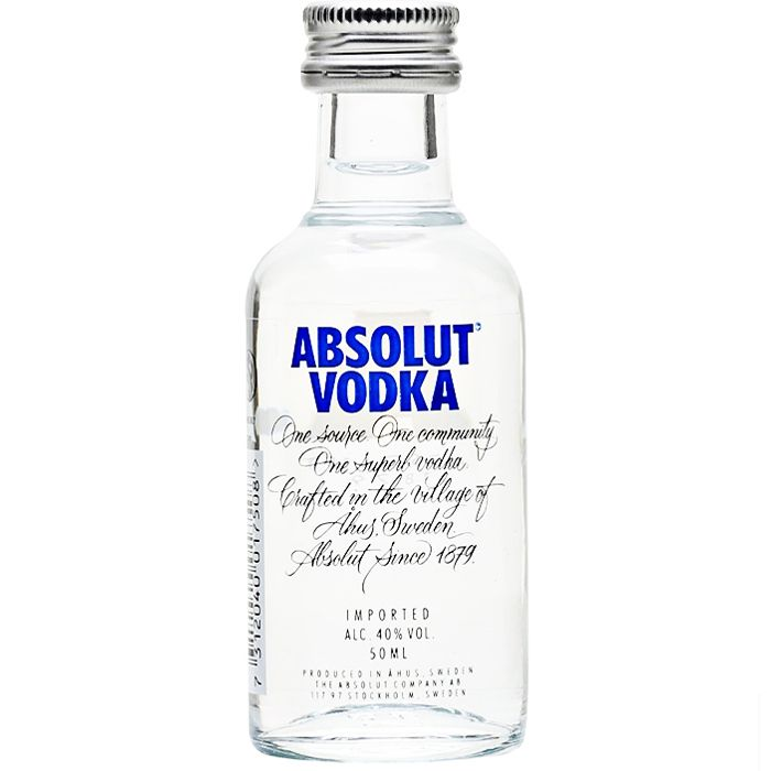 ABSOLUT 50 ML