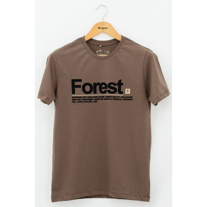 T-shirt Forest Earth